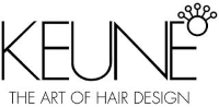 Keune, The art of hair design logo